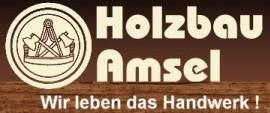 Holzbau-Amsel